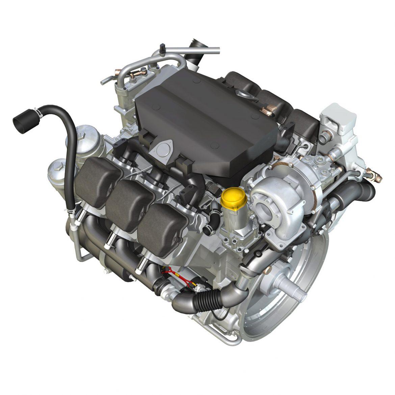 diesel turbo – 6-cylinder engine 3d model 3ds fbx c4d lwo obj 299641