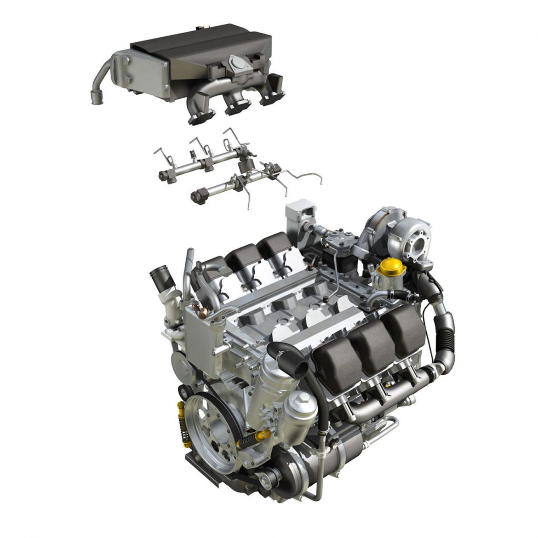 diesel turbo – 6-cylinder engine 3d model 3ds fbx c4d lwo obj 299645
