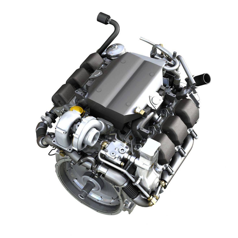 diesel turbo engine with interior parts 3d model 3ds fbx c4d lwo obj 299693