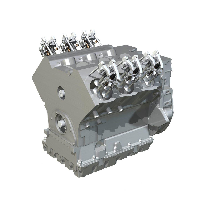 diesel turbo engine with interior parts 3d model 3ds fbx c4d lwo obj 299696