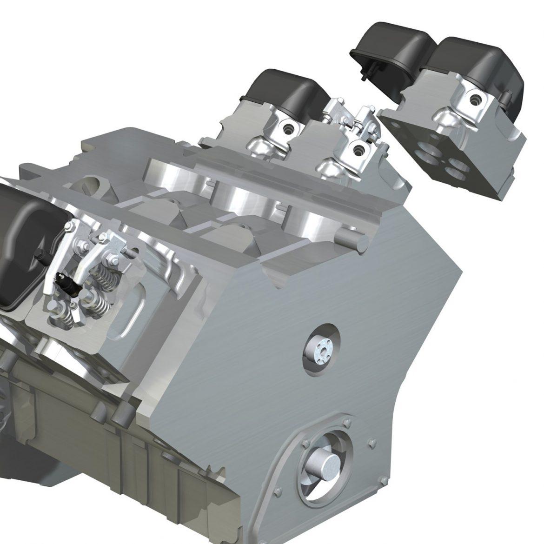 diesel turbo engine with interior parts 3d model 3ds fbx c4d lwo obj 299697