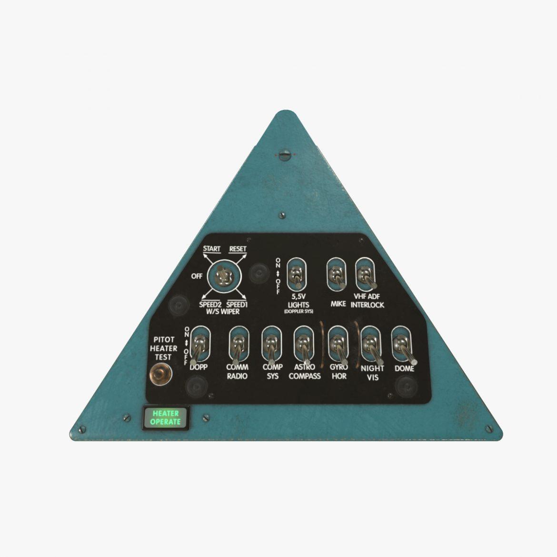 mi-8mt mi-17mt right triangular board english 3d model 3ds max fbx obj 299731