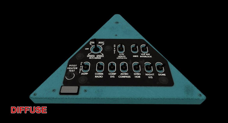 mi-8mt mi-17mt right triangular board english 3d model 3ds max fbx obj 299752