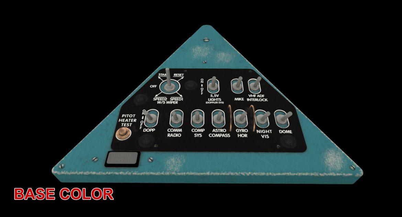 mi-8mt mi-17mt right triangular board english 3d model 3ds max fbx obj 299755