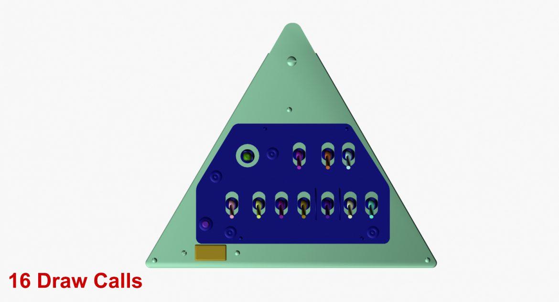 mi-8mt mi-17mt right triangular board english 3d model 3ds max fbx obj 299764
