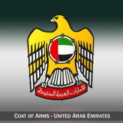 emblem of the united arab emirates 3d model 3ds c4d lwo obj 299821