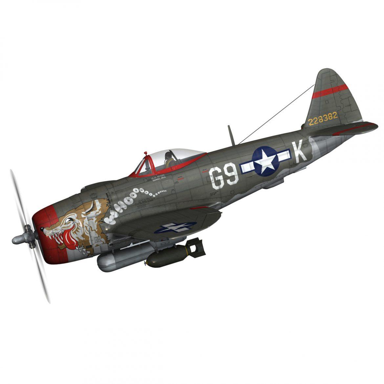 republic p-47d thunderbolt – whoo… 3d model fbx c4d lwo obj 299855