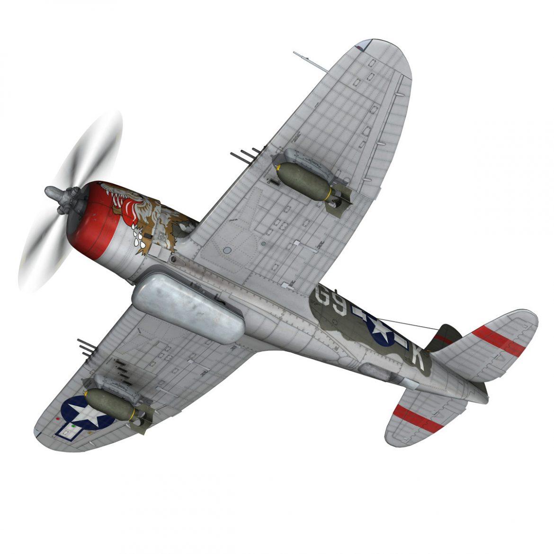 republic p-47d thunderbolt – whoo… 3d model fbx c4d lwo obj 299856