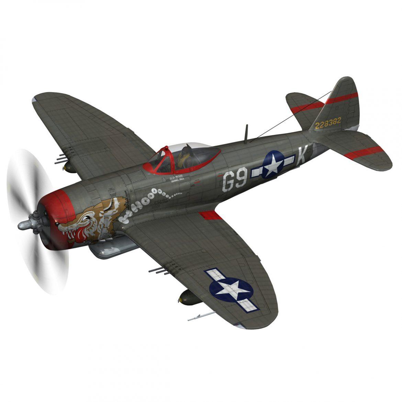 republic p-47d thunderbolt – whoo… 3d model fbx c4d lwo obj 299857
