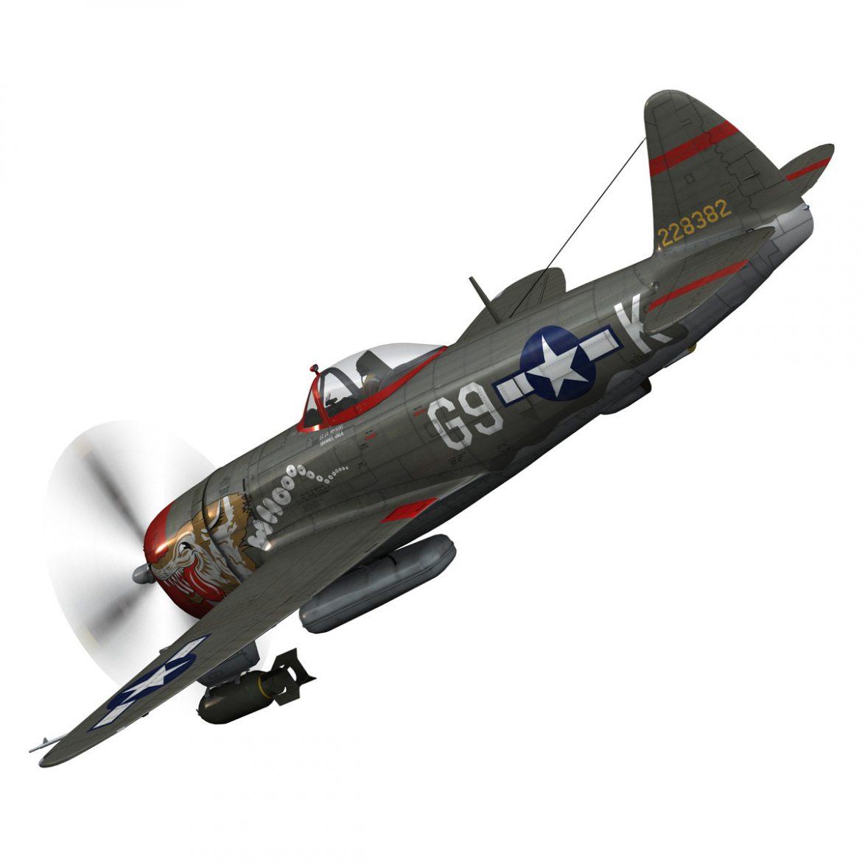 republic p-47d thunderbolt – whoo… 3d model fbx c4d lwo obj 299858