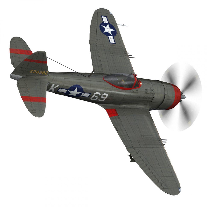 republic p-47d thunderbolt – whoo… 3d model fbx c4d lwo obj 299860