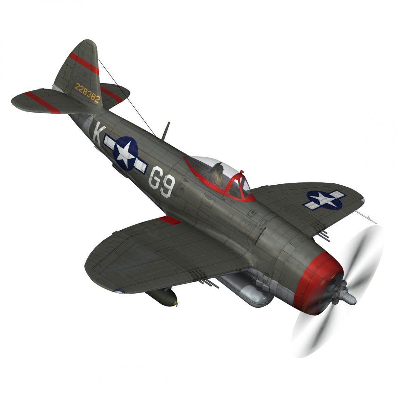 republic p-47d thunderbolt – whoo… 3d model fbx c4d lwo obj 299861
