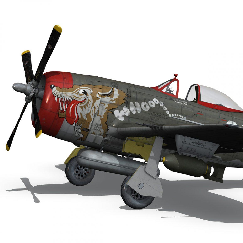 republic p-47d thunderbolt – whoo… 3d model fbx c4d lwo obj 299863