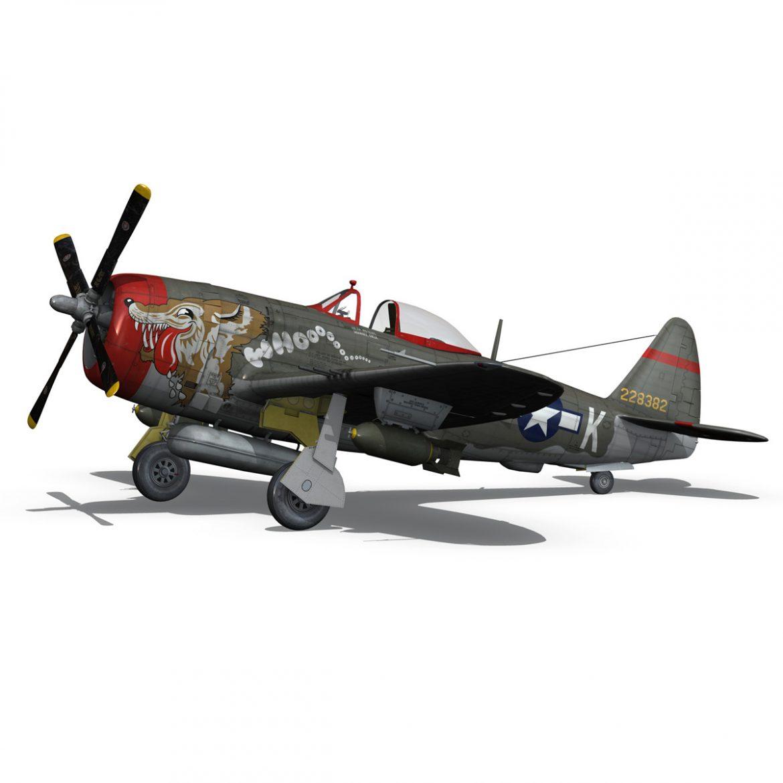 republic p-47d thunderbolt – whoo… 3d model fbx c4d lwo obj 299864