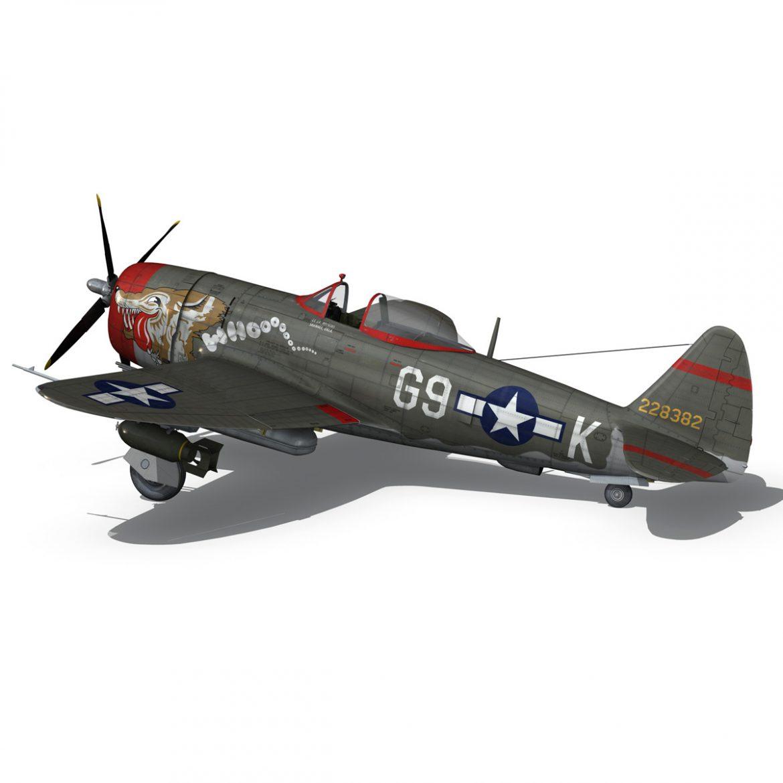 republic p-47d thunderbolt – whoo… 3d model fbx c4d lwo obj 299865