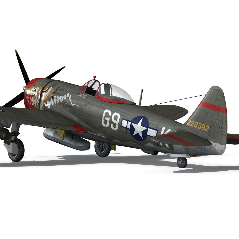 republic p-47d thunderbolt – whoo… 3d model fbx c4d lwo obj 299866