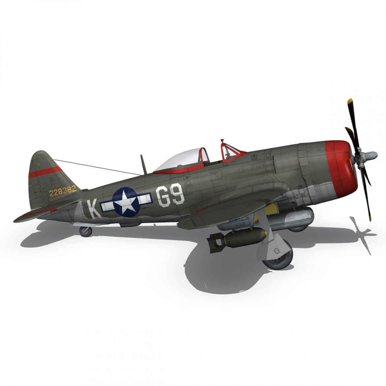 republic p-47d thunderbolt – whoo… 3d model fbx c4d lwo obj 299867