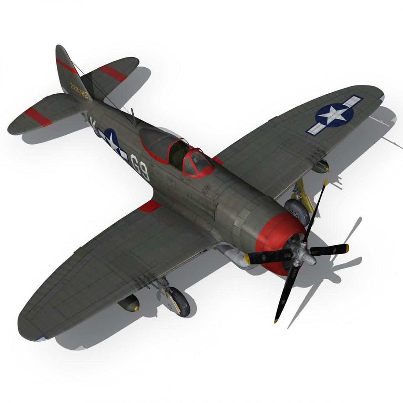 republic p-47d thunderbolt – whoo… 3d model fbx c4d lwo obj 299868