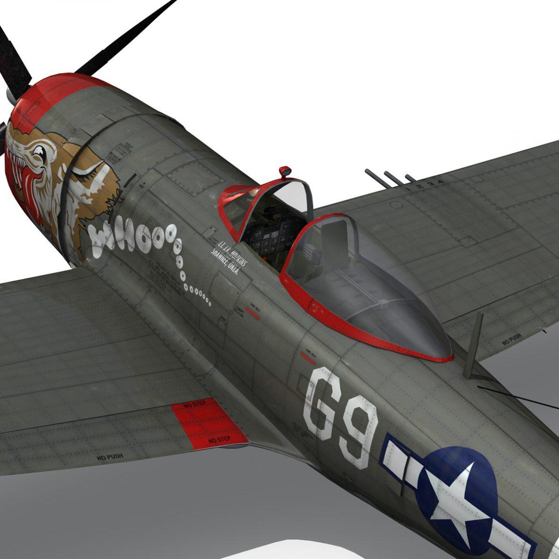 republic p-47d thunderbolt – whoo… 3d model fbx c4d lwo obj 299869