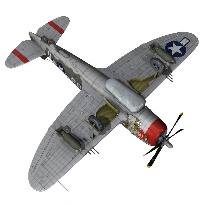 republic p-47d thunderbolt – whoo… 3d model fbx c4d lwo obj 299870