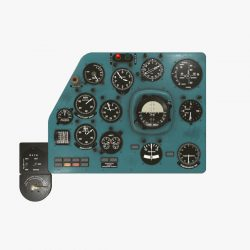 mi-8mt mi-17mt left panels board russian 3d model 3ds max fbx obj 300191
