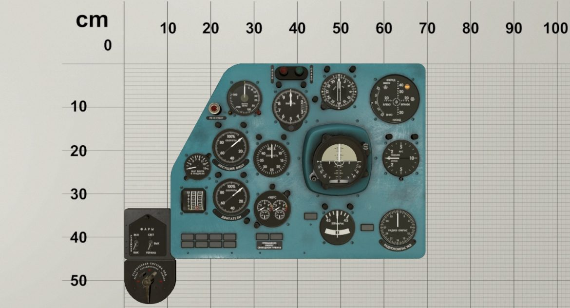 mi-8mt mi-17mt left panels board russian 3d model 3ds max fbx obj 300200