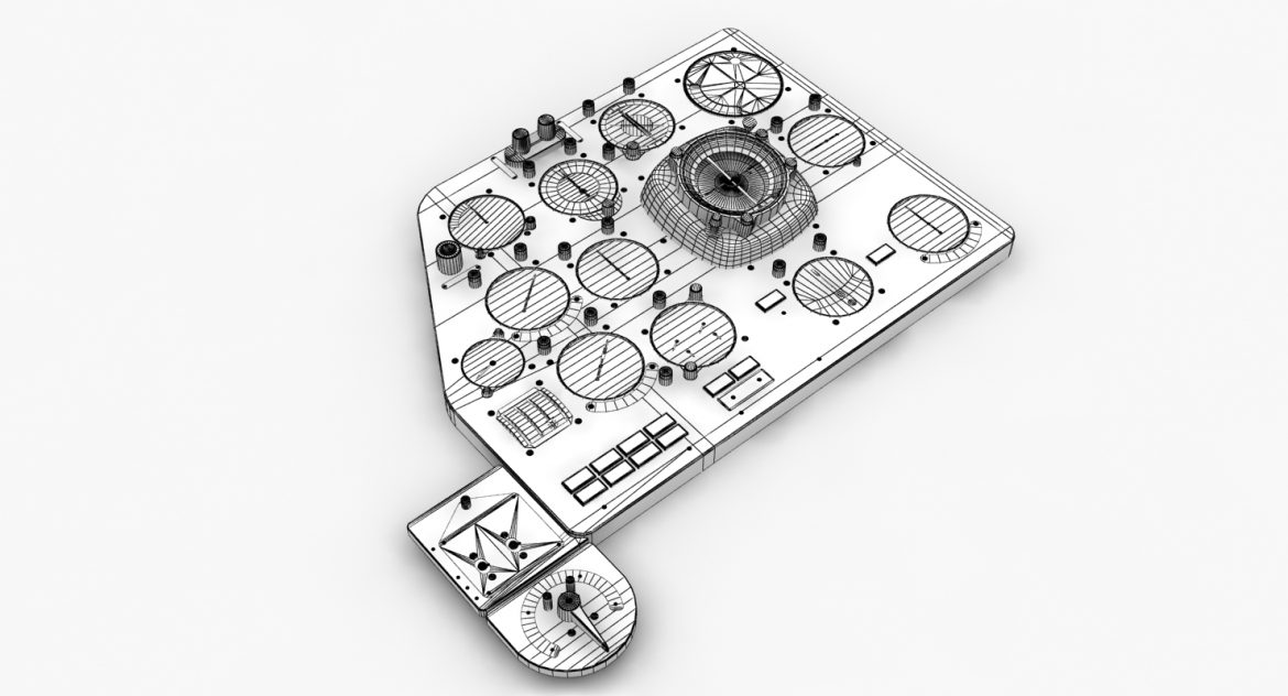 mi-8mt mi-17mt left panels board russian 3d model 3ds max fbx obj 300202