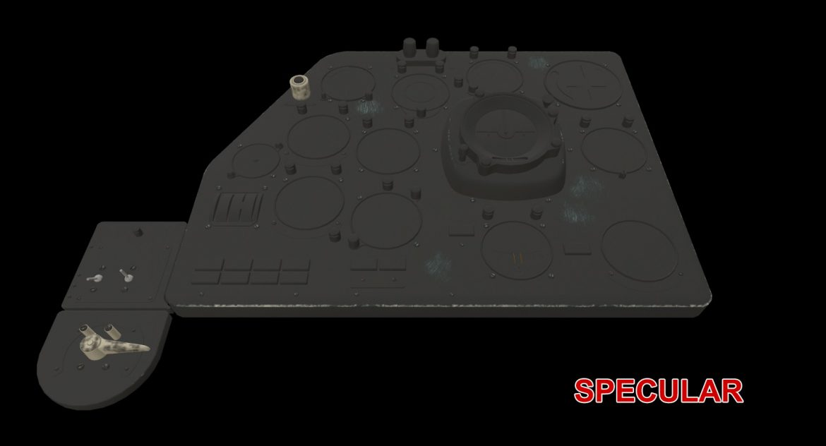 mi-8mt mi-17mt left panels board russian 3d model 3ds max fbx obj 300213