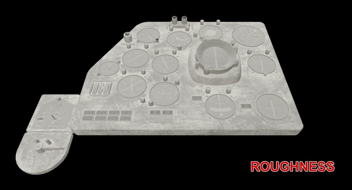 mi-8mt mi-17mt left panels board russian 3d model 3ds max fbx obj 300215