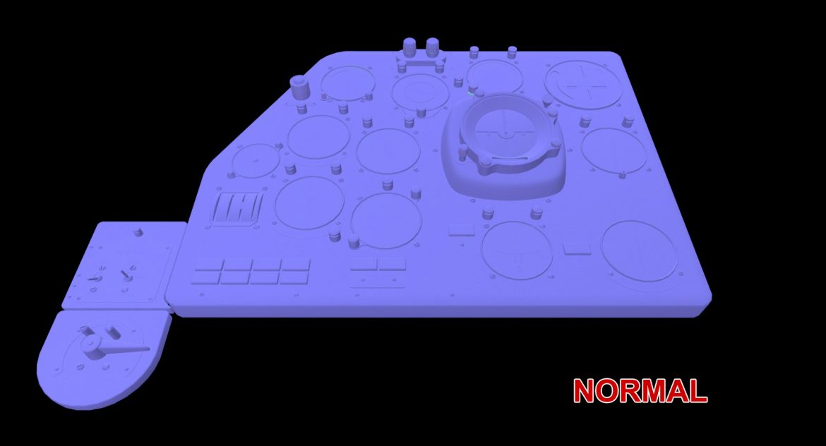 mi-8mt mi-17mt left panels board russian 3d model 3ds max fbx obj 300218