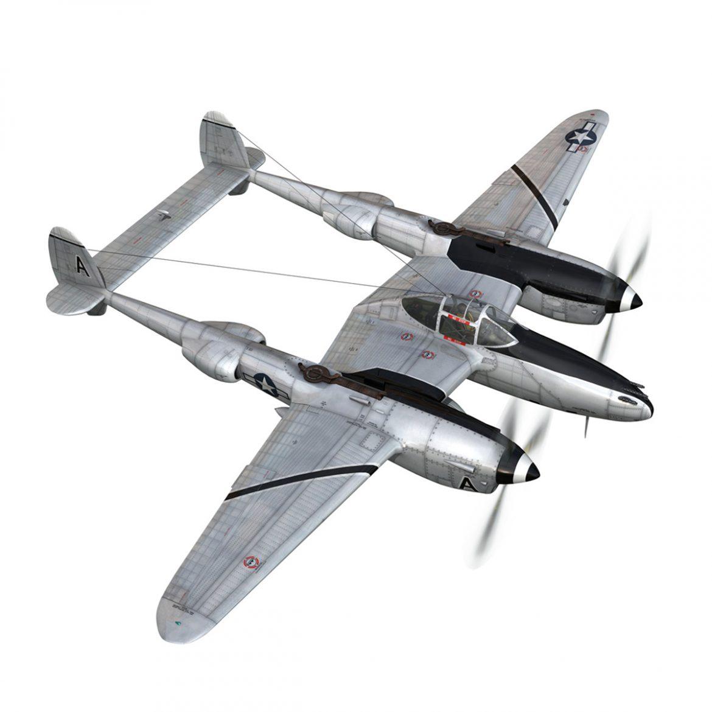 lockheed p-38 lightning – vagrant virgin 3d model fbx c4d lwo obj 300247