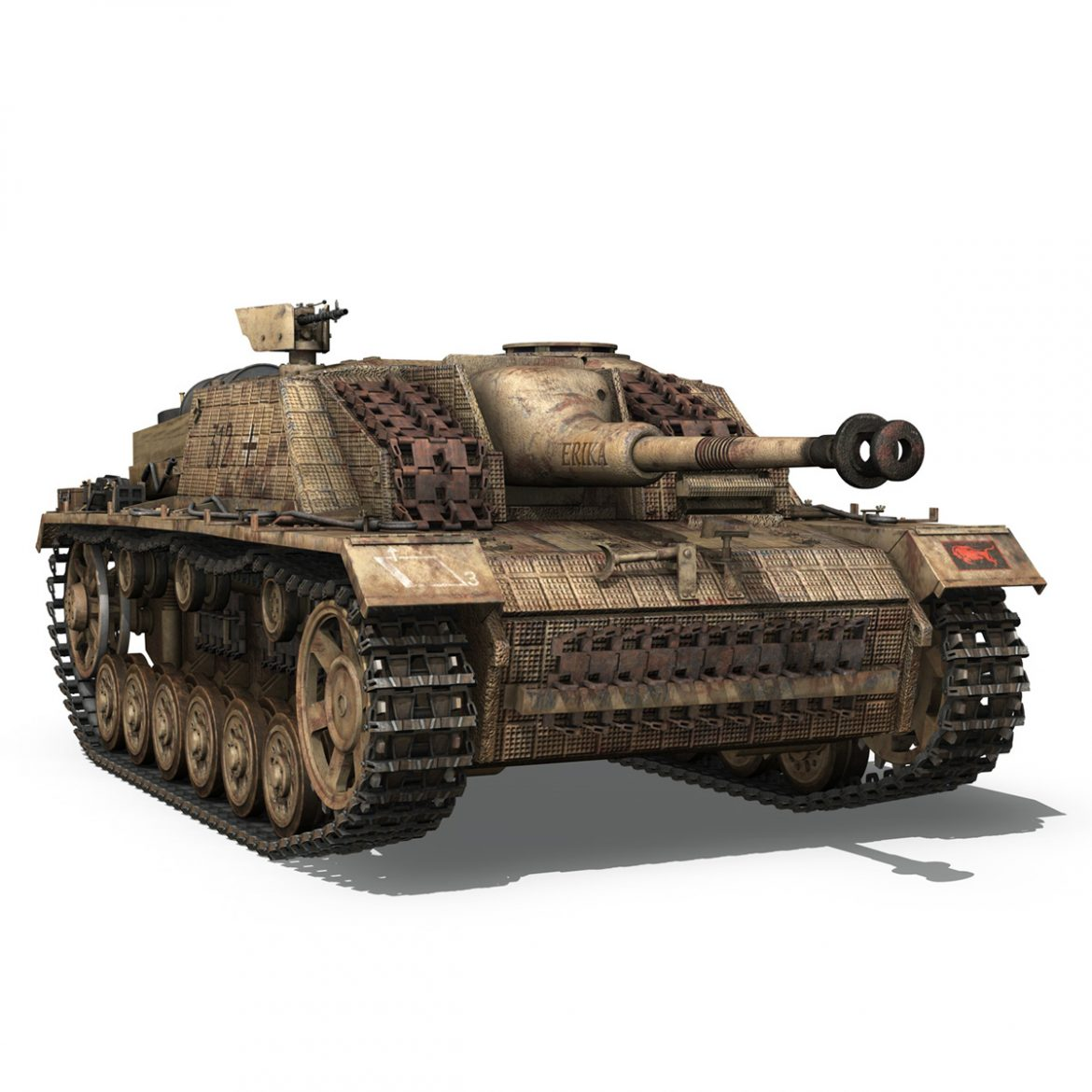 stug iii – ausf.g – 312 – mid production 3d model 3ds c4d lwo obj 300363