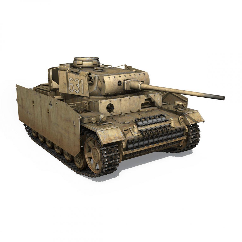 pzkpfw iii – panzer 3 – ausf.m – 631 3d model 3ds c4d lwo obj 300464