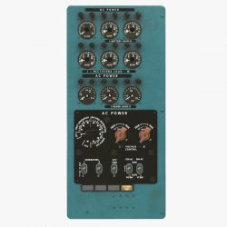 mi-8mt mi-17mt power panels board english 3d model 3ds max fbx obj 300477