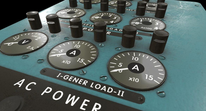 mi-8mt mi-17mt power panels board english 3d model 3ds max fbx obj 300480