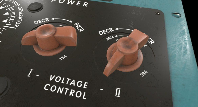 mi-8mt mi-17mt power panels board english 3d model 3ds max fbx obj 300481