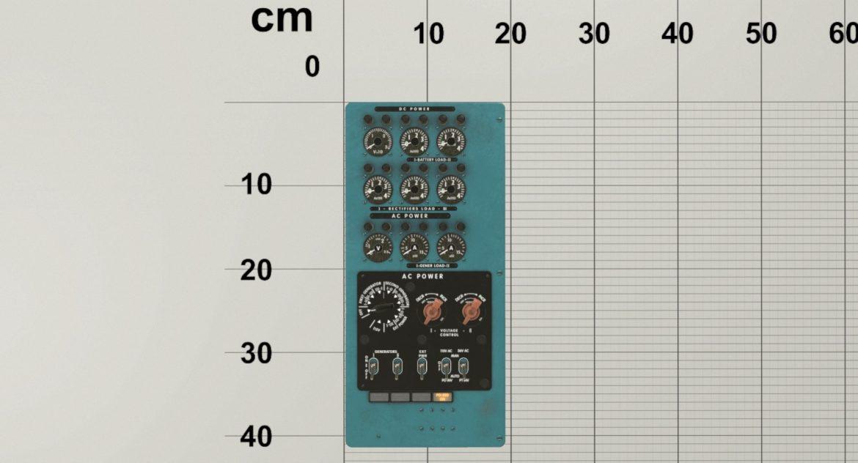 mi-8mt mi-17mt power panels board english 3d model 3ds max fbx obj 300484