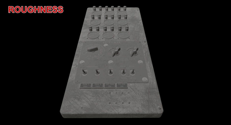 mi-8mt mi-17mt power panels board english 3d model 3ds max fbx obj 300499