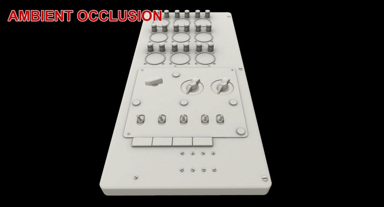 mi-8mt mi-17mt power panels board english 3d model 3ds max fbx obj 300500