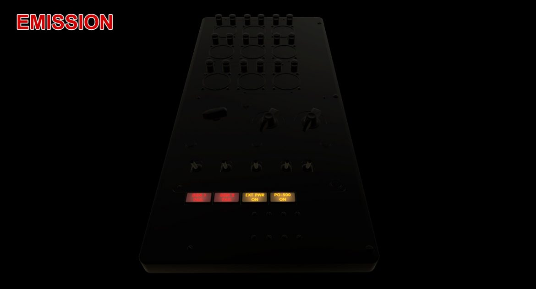 mi-8mt mi-17mt power panels board english 3d model 3ds max fbx obj 300501