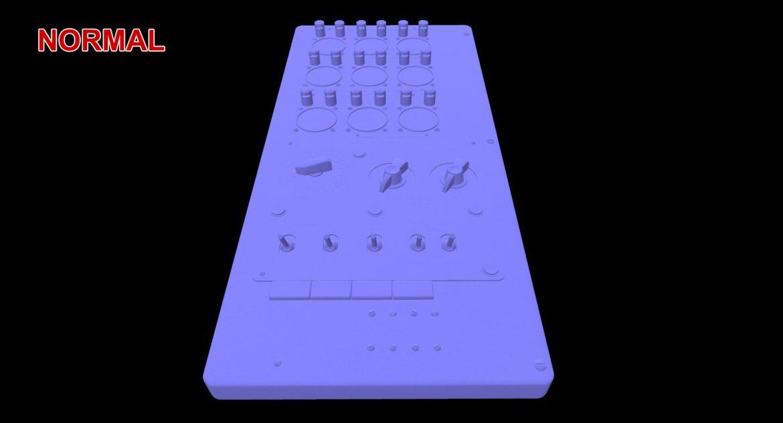 mi-8mt mi-17mt power panels board english 3d model 3ds max fbx obj 300502