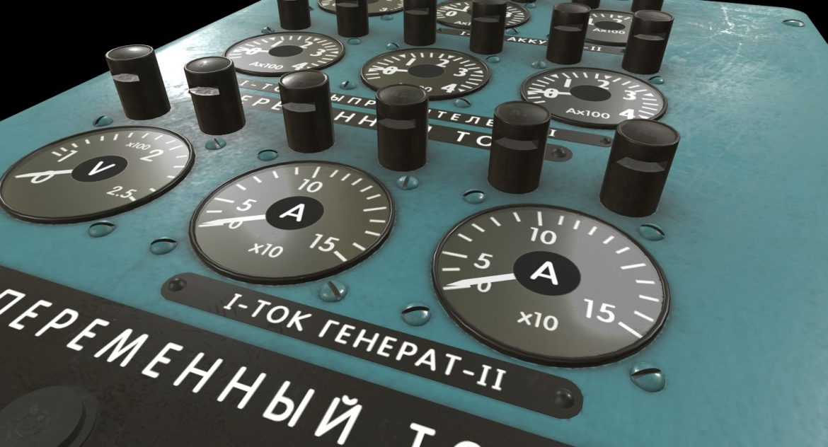mi-8mt mi-17mt power panels board russian 3d model 3ds max fbx obj 300517
