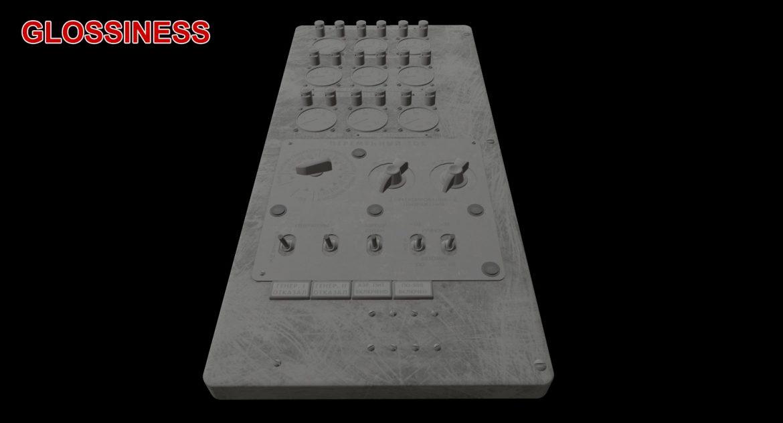 mi-8mt mi-17mt power panels board russian 3d model 3ds max fbx obj 300532
