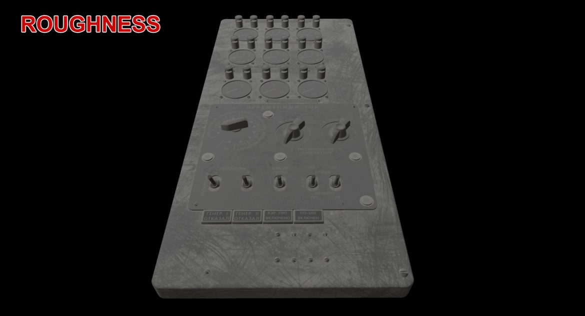 mi-8mt mi-17mt power panels board russian 3d model 3ds max fbx obj 300535