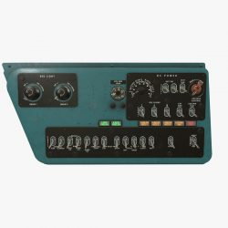 mi-8mt mi-17mt right side console english 3d model 3ds max fbx obj 300728