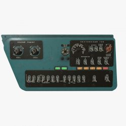 mi-8mt mi-17mt right side console russian 3d model 3ds max fbx obj 300765