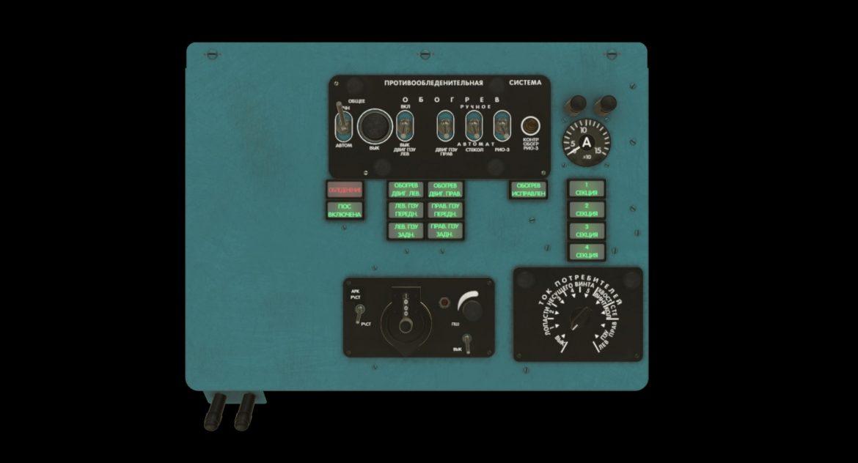 mi-8mt mi-17mt left overhead board russian 3d model 3ds max fbx obj 300847