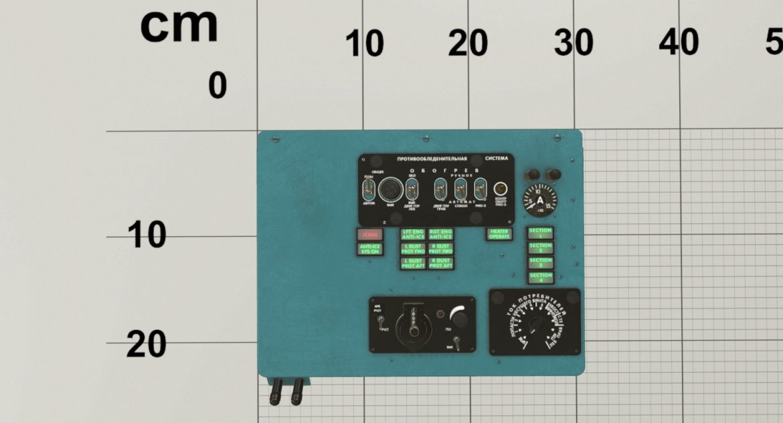 mi-8mt mi-17mt left overhead board russian 3d model 3ds max fbx obj 300854
