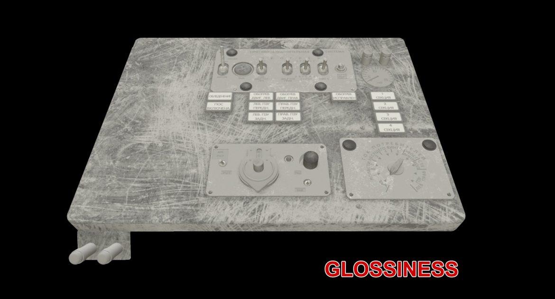 mi-8mt mi-17mt left overhead board russian 3d model 3ds max fbx obj 300861