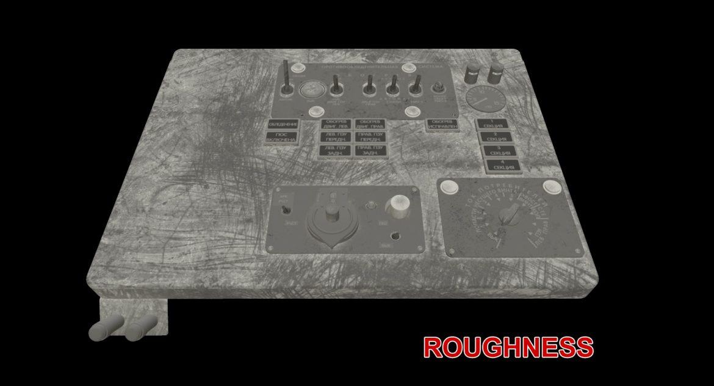 mi-8mt mi-17mt left overhead board russian 3d model 3ds max fbx obj 300865